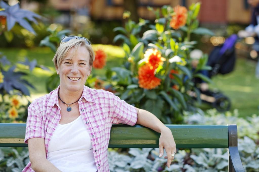 Författare Cecilia Svensson Foto Tor Johnsson