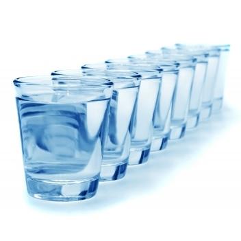 Glas på rad