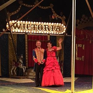 Lars-åke och Karin Jonsson, Cirkus Wictoria