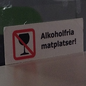 Alkoholfria matplatser på IKEA